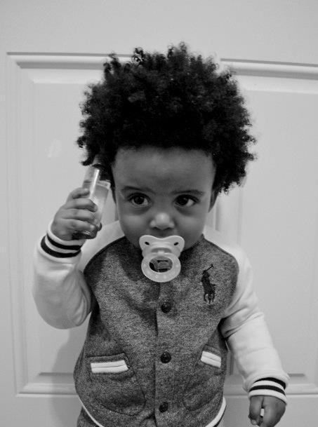 Virtuous Living: Wordless Wednesday ~ Baby Swag
