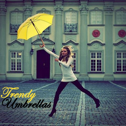 Trendy Umbrellas
