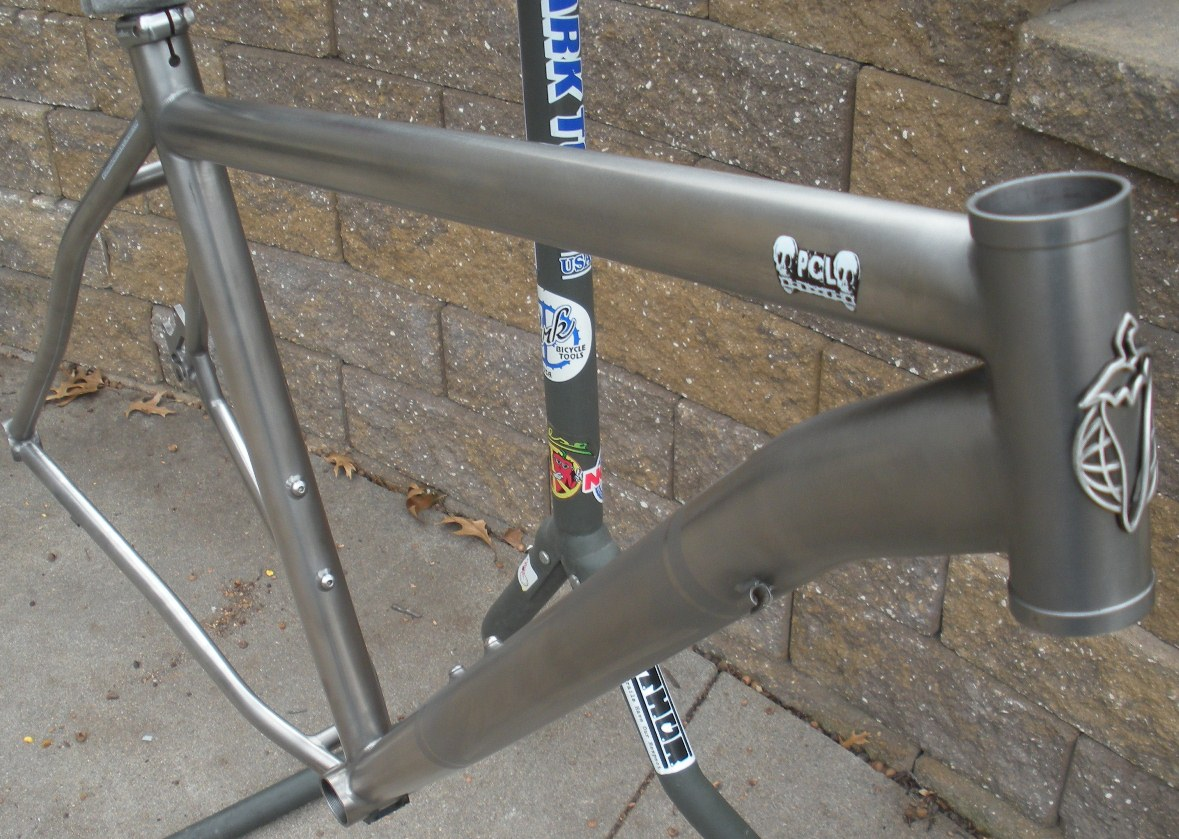 The DirtBlog: For Sale: Salsa Ti El Mariachi Frame - Size Large -- SOLD!
