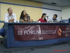 III FÓRUM  INTERNACIONAL DE ARQUEOLOGIA URBANA-UFPE/UNIVERSIDADE DE COIMBRA