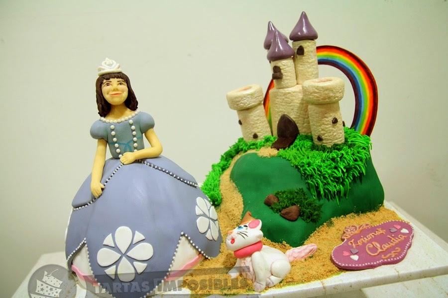 Tarta princesa Sofia de Tartas imposibles