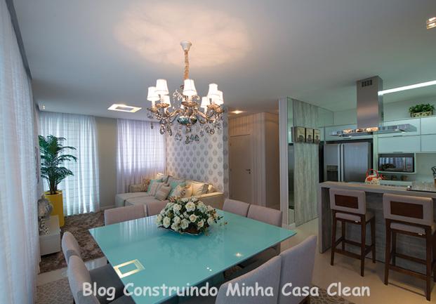 decoracao de cozinha integrada a sala de jantar: Casa Clean: 25 Cozinhas Integradas com as Salas! Veja como Decorar