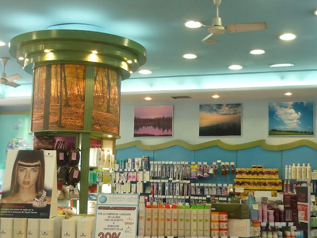 Perfumería Comercial Astur. La Calzada, Gijón. Punto de venta Eva Rogado