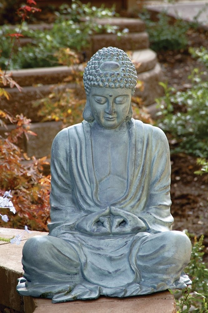 large garden buddha statue garden buddha statues. Black Bedroom Furniture Sets. Home Design Ideas