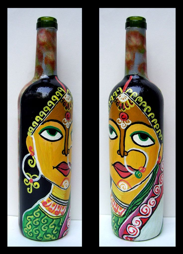 how to make indian hand painting