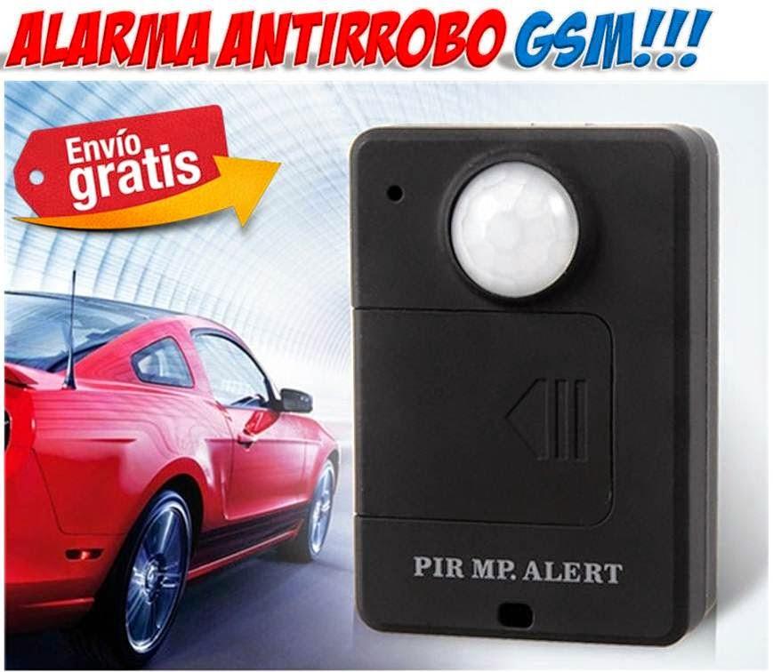 Alarmas GSM con detección de movimiento
