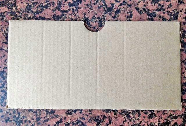 Cajita de cartón - Paso 1
