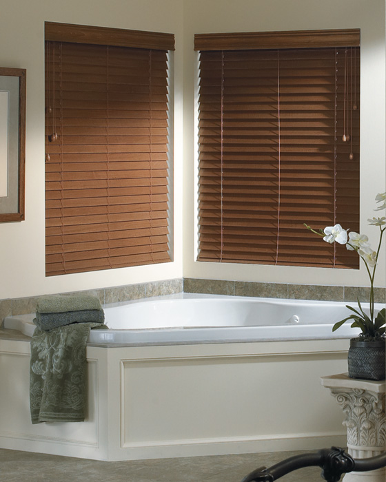 Faux Wood Window Blinds - Inexpensive and Durable on blindsontime.com