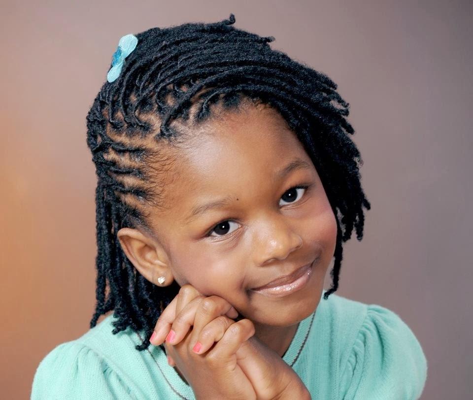 cute braids for short hair black girls