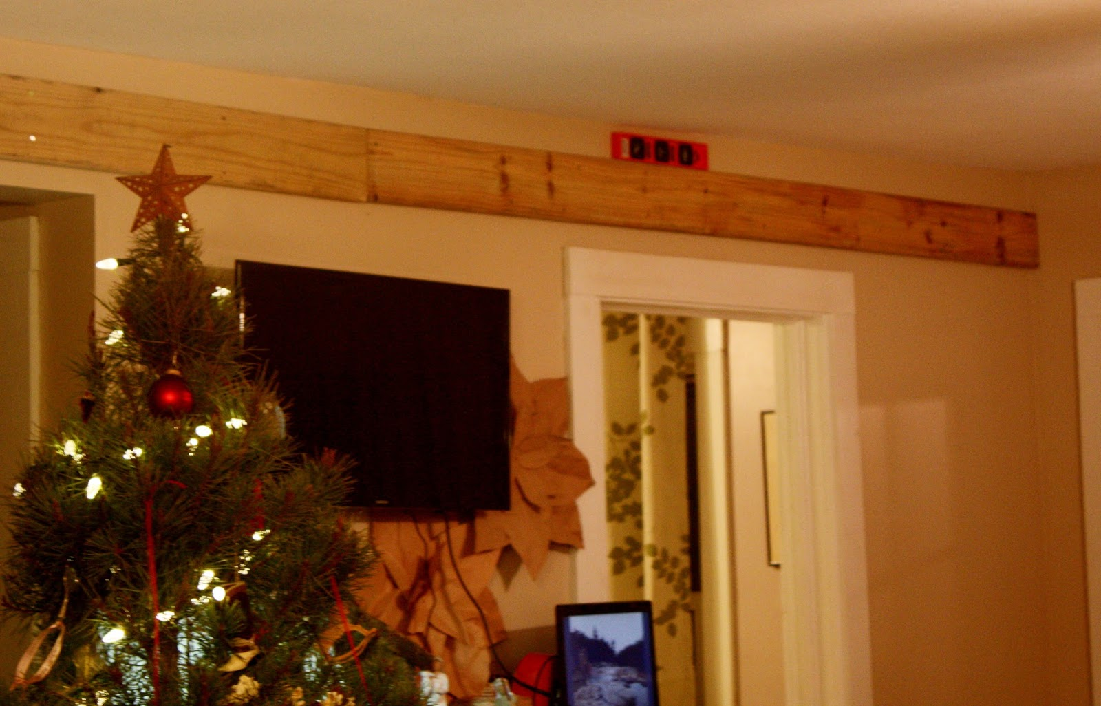 Our Box Rail Barn Door With A Twist The Vine Amp Fig Tree