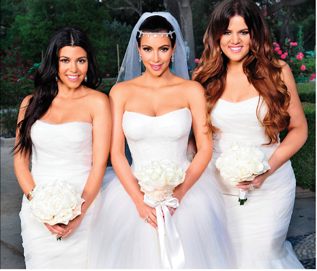 kim kardashian wedding firts