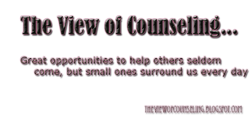 The View Of Counseling