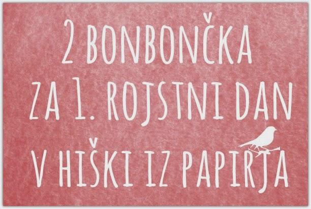 BonBonČek v Hiški iz Papirja