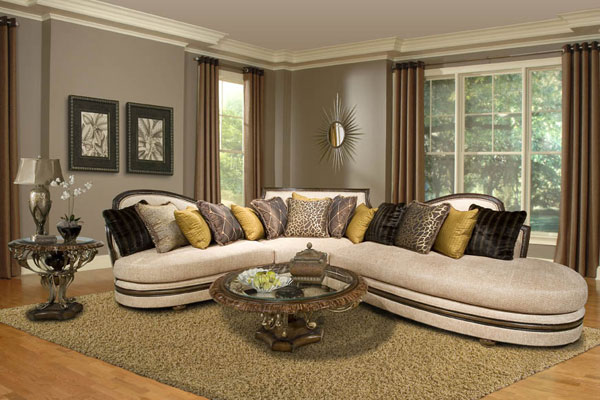 Astonishing and Elegant Living Room Sectionals ~ Curtains Design Needs