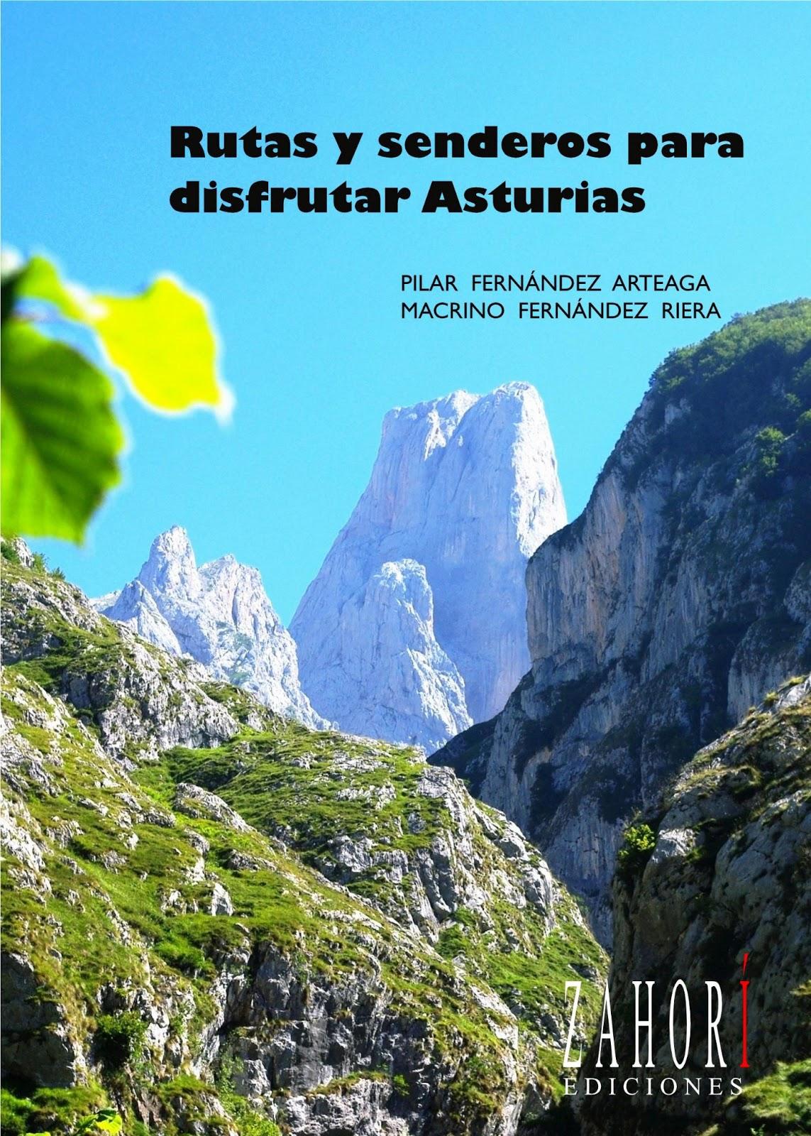 Rutas y senderos para disfrutar Asturias, portada