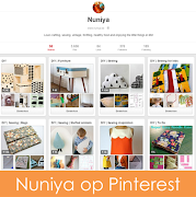 Nuniya volgen op Pinterest