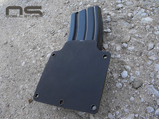 kydex for molle and pant's belt flat back design