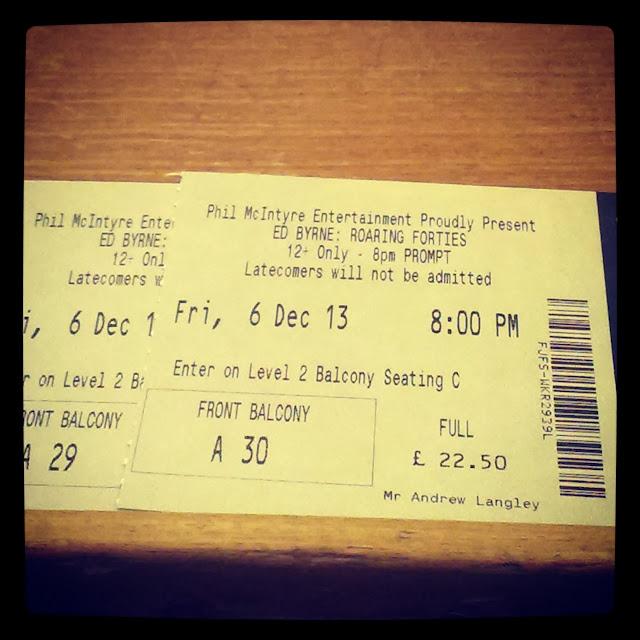 Ed Byrne Tickets