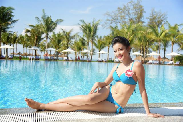 Là một người mẫu, Huyền My có chỉ số hình thể đẹp, nổi bật khi cô tham gia Hoa hậu Việt Nam 2014.
