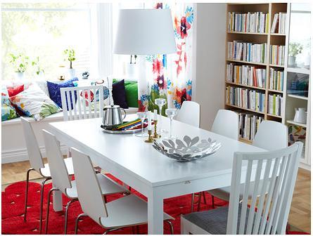 Ikea e momichan tavoli da pranzo for Bjursta tavolo