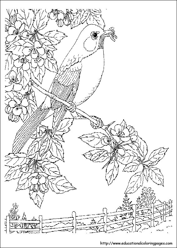kids coloring pages scenery painting - photo#14