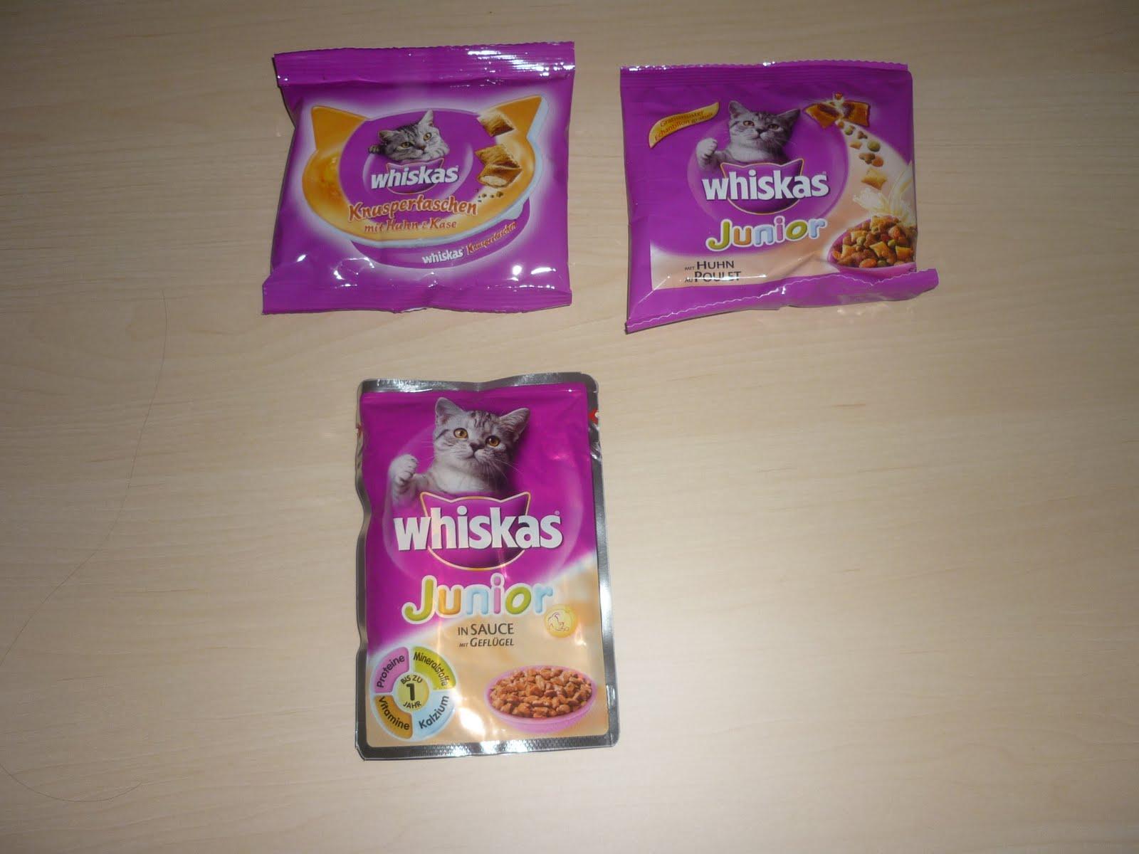 whiskas knuspertaschen coupon