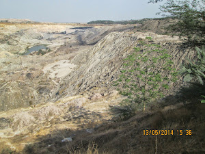Coal mine in Chandrapur.
