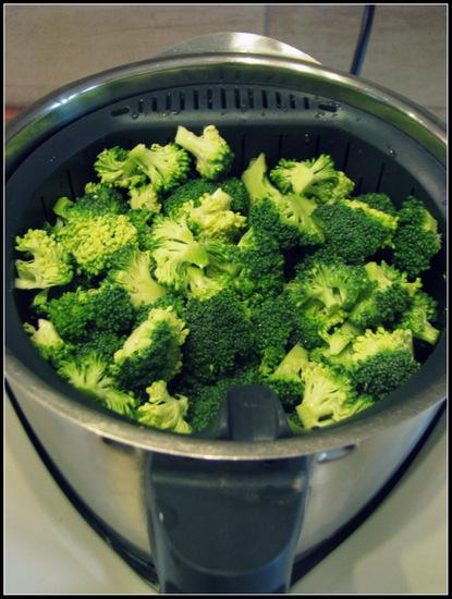 Thermomix ile adım adım Brokoli ve Ton Balıklı Makarna Tarifi