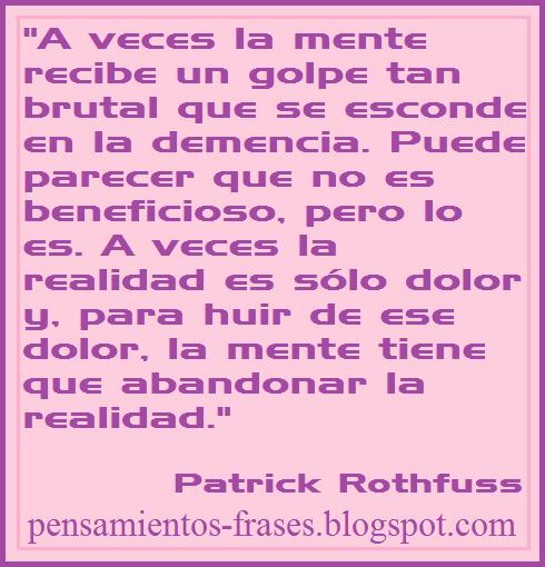 frases de Patrick Rothfuss