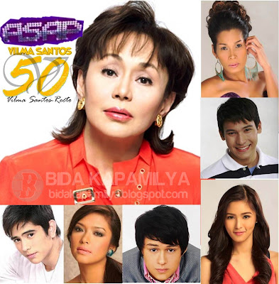 ASAP 2012 Celebrates Ate Vi's Golden Anniversary in SHowbiz Plus a lot of Hot segments and new groups