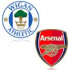 Wigan Athletic - FC Arsenal