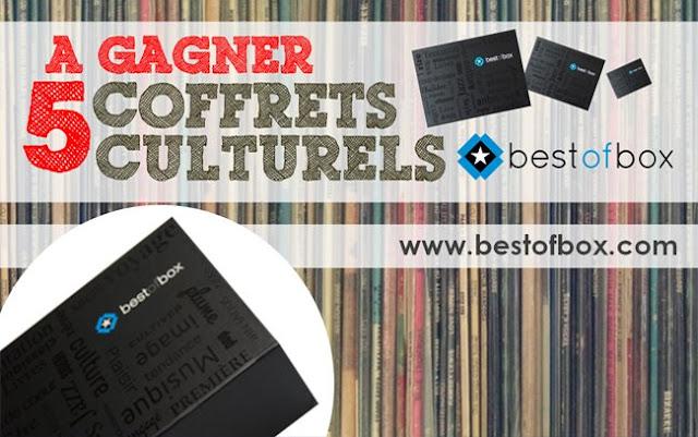 """5 coffrets culturels """"BestofBox"""""""