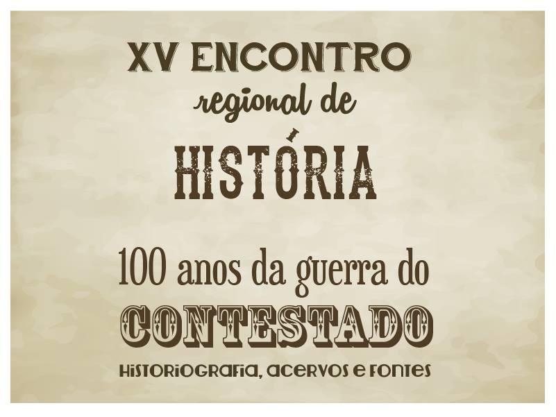 O XV Encontro Estadual de História do Paraná