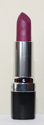 Avon Perfectly Matte Lipstick in Hot Plum