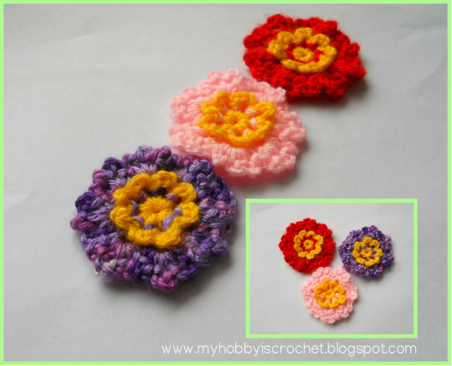 My Hobby Is Crochet Simple Dainty Flowers Free Pattern With Photo