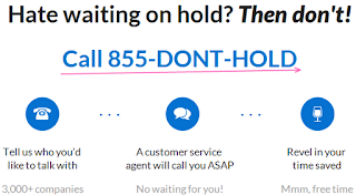 Fast connect to customer care on phone