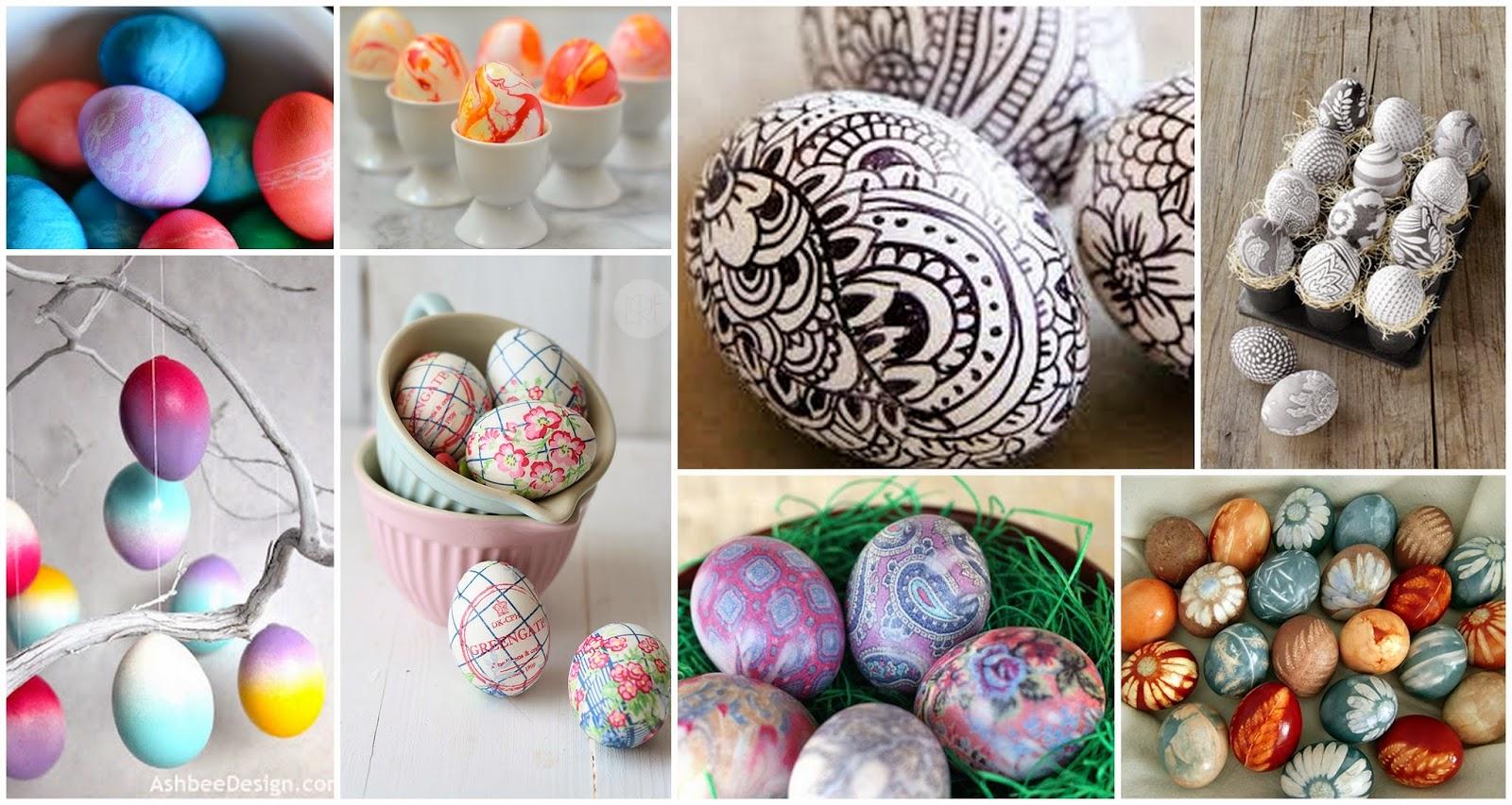 10 sposobów na ozdobienie wielkanocnych jajek których jeszcze nie znacie.