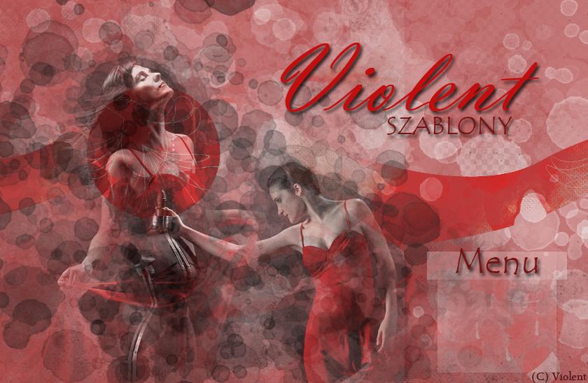 Szablony na blogspot.com | Violent