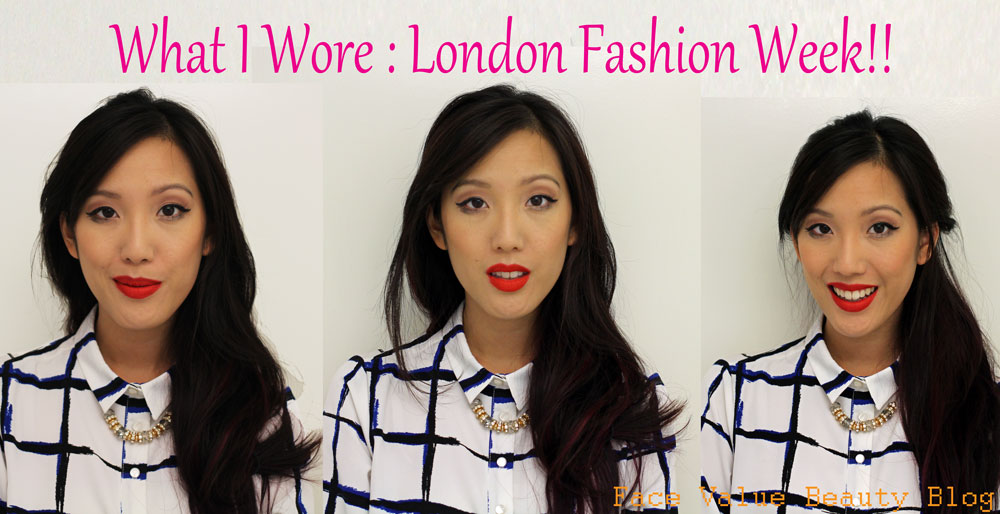What I Wore: Choosing My LFW Outfit