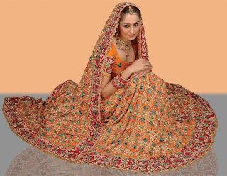 Bridal lehenga design