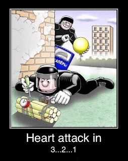Funny Bomb Disposal Joke Cartoon