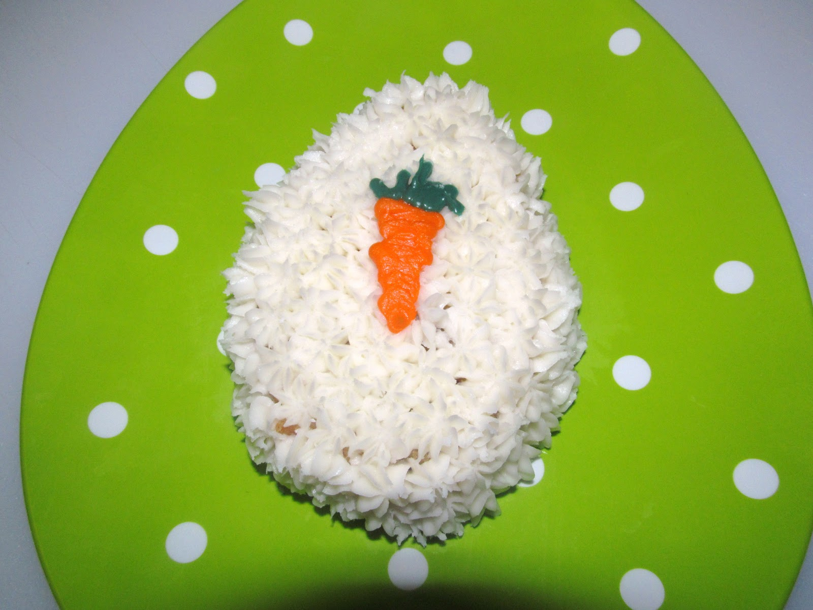The Freshman Cook Easter Egg Carrot Cake Holiday Recipe Club