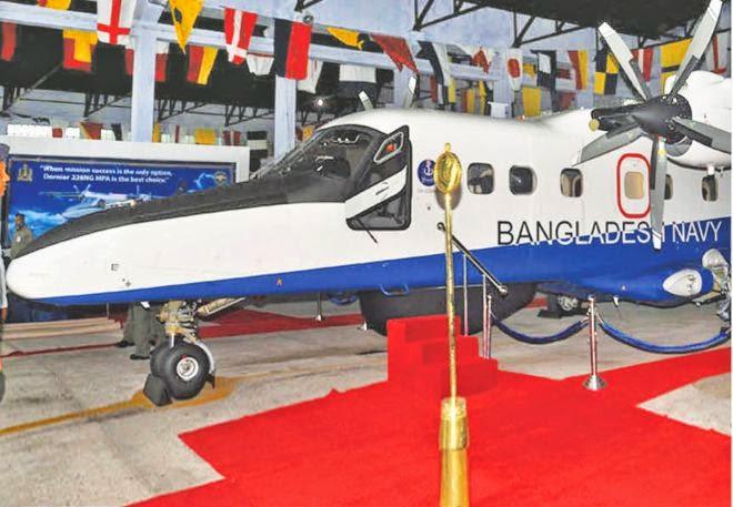 Bangladesh Navy Maritime Patrol Aircraft (MPA) Dornier Do 228 NG