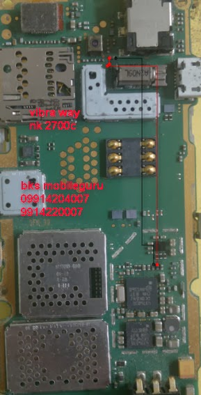 Nokia 2700c vibrator ways jumper diagram