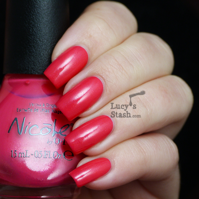 Lucy's Stash - Nicole by OPI A Like-Haley Story