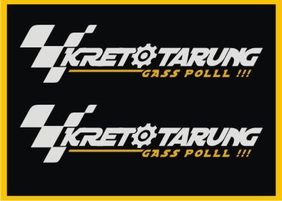 STICKER RESMI KRETO TARUNG #2