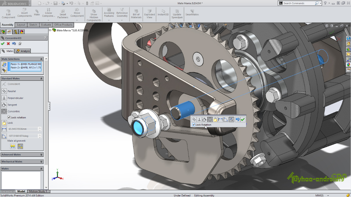 SolidWorks Premium Edition 2014 SP5.0 full version kuyhaa