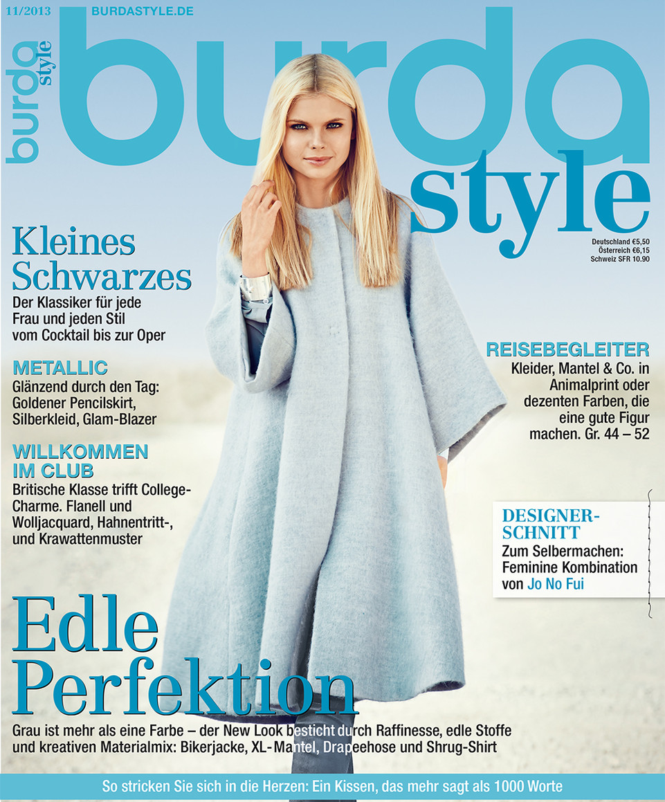 Sew & Style: BURDA November 2013