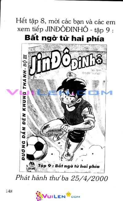 Jindodinho - Đường Dẫn Đến Khung Thành III  Tập 8 page 148 Congtruyen24h