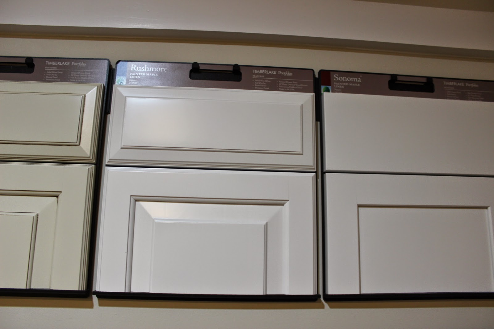 Cabinets  Painted Maple Linen (middle)